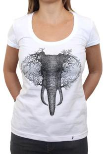 Elephant - Camiseta Clássica Feminina