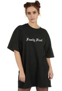 Camiseta Skull Clothing La Familia Feminina - Feminino