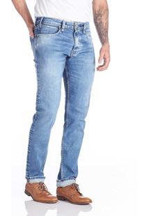 Calça Jeans Convicto Slim Bordado