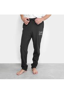 43b410816 Calça Pijama Calvin Klein Cotton Masculina - Masculino