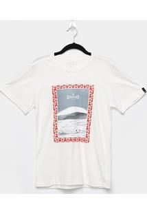 Camiseta Juvenil Quiksilver Wrap It Boys Masculina - Masculino-Off White