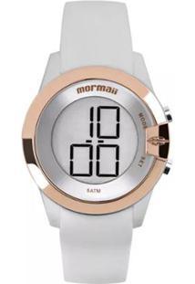 Relógio Masculino Mormaii Digital Mom13001B/8K - B - Unissex-Prata