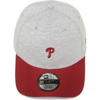 Boné New Era Philadelphia Phillies Cinza Vinho d0e5b8dfdead5