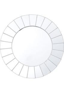 Espelho Decorativo Luci Prateado 50X50X2 Cm