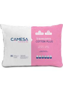 Travesseiro Cotton Plus Lll Branco 50X70 Cm