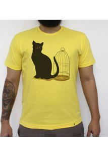 The Cat - Camiseta Clássica Masculina