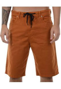 Bermuda Dc Shoes Walkshort Skate - Marrom / 38