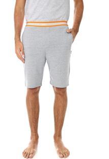 Bermuda Calvin Klein Underwear Reta Neon Hazard Rico Cinza