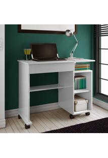Mesa Para Computador C214 Bb Branco Brilho - Dalla Costa