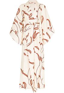 Johanna Ortiz Soul Quest Printed Kimono - Neutro