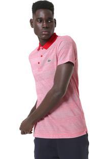 Camisa Polo Lacoste Reta Padronagem Vermelha 6dda4b45f3