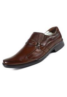 Sapato Ranster Confortável Palmilha Gel Marrom