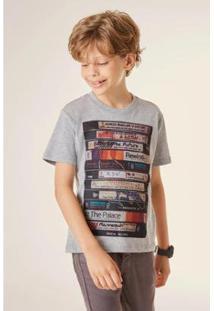 Camiseta Reserva Mini Pica Pau Tapes Masculina - Masculino-Cinza