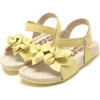 29d56f48679fc Sandália Para Menina Amarela Pampili infantil | Shoes4you