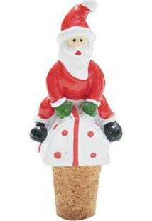 Enfeite Papai Noel Para Pendurar- Vermelho & Branco-Cromus