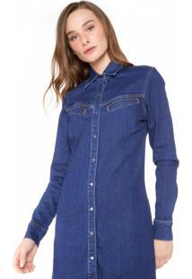 Vestido Camisa Jeans Western