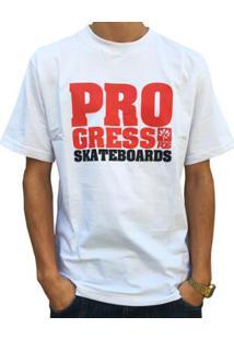 d03942a32e0d0 Camiseta Pgs Pro Skateboards Masculina - Masculino-Branco
