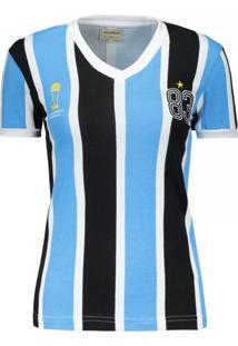 Camiseta Feminina Tricolor 1983 Retrô Mania