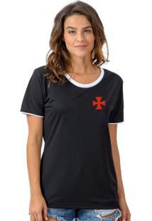Camiseta Vasco Bull Preta