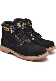 Bota Caterpillar Second Shift Boot- Preta