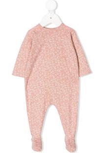 Bonpoint Pijama Com Estampa De Cereja - Rosa