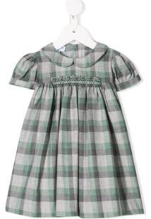 Siola Vestido Xadrez - Verde