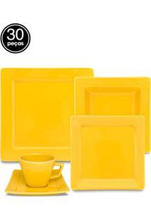 Aparelho Jantar/Chá Oxford 30Pcs Mail Order Nara Yellow Amarelo