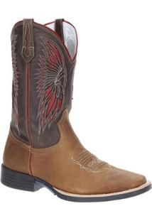 Bota Couro Country West Country Masculino - Masculino-Marrom 29a03c922dd