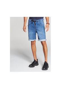 Bermuda Docthos Jeans Moletom Elastico Middle Bermuda Docthos Jeans Moletom Elastico Middle 164 Jeans Medio 46