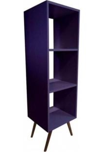 Estante Vertical Bery - Roxo - Tommy Design