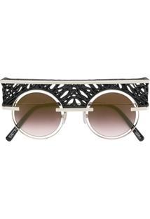 Óculos De Sol Poliamida Preto feminino   Shoes4you 85e679f531