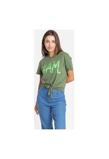 Camiseta Gam 485012 Gam Verde