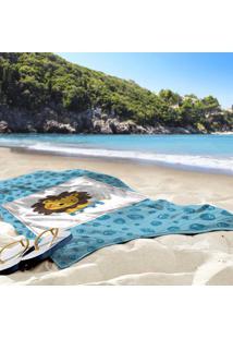 Toalha De Praia / Banho Leãozinho