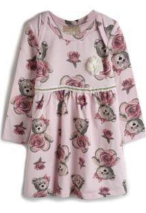 Vestido Milon Estampa Rosa