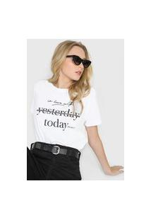 Camiseta Polo Wear Today Branca
