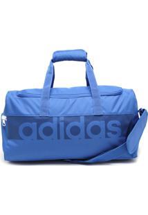 Mala Adidas Performance Tiro S Azul