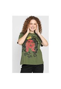 Camiseta Colcci 80'S Verde