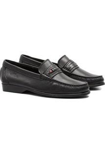 Sapato Social Samello Loafer Couro Masculino - Masculino