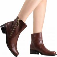 8bcc2f2af Ankle Boot Luz Da Lua feminina | Shoes4you