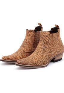 Bota Top Franca Shoes Country Caramelo