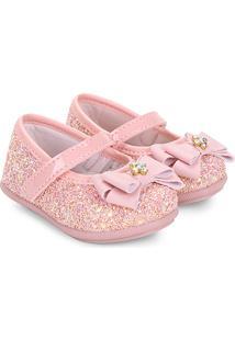 Sapato Infantil Pimpolho Fase 21 Feminino - Feminino-Rosa