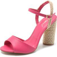 cc78eb817 Sandália Cristal Rosa feminina | Shoes4you