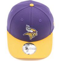 44d3974d883c6 Boné New Era 940 Minnesota Vikings Nfl Roxo