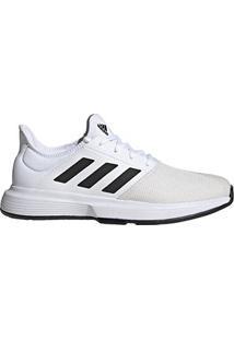 Tênis Adidas Gamecourt Masculino - Masculino-Branco+Preto