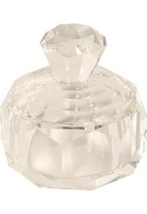 Porta-Joias De Cristal Decorativo Glace