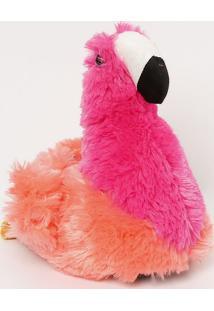 Pantufa Flamingo- Pink & Laranjapuket