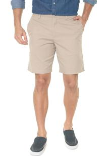 Bermuda Banana Republic Chino Slim Stretch-Cotton Bege