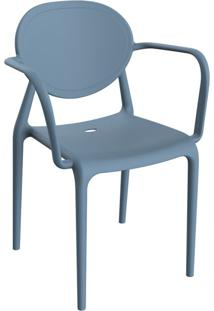 Cadeira Slick Com Braço Lazuli