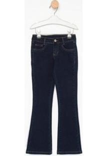 Calça Jeans Infantil Express Flare Lucacia Feminina - Feminino