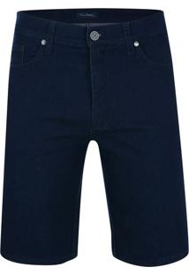 Bermuda Jeans Active Marinho